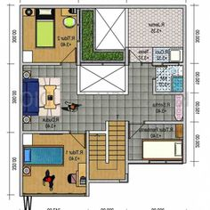 Wow ! Ini Dia Denah Rumah Minimalis Type 45 3 Kamar Terbaru Minimal House Design, Minimal Home, Affordable Bedroom Sets, Type 45, Minimalism, Projects To Try, Floor Plans, 1, Flooring