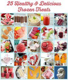 25 Healthy and Delicious Frozen Treats