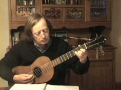Fernando Sor - Leçon 5, opus 60 - Romantic Guitar - YouTube