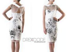 Blumarine cocktail dress-->> rent on http://drexcode.com/prodotto/tubino-con-fantasia-floreale/ or buy in -->> http://drexcode.com/sale/prodotto/tubino-con-fantasia-floreale/ #drexcode #fashionrent
