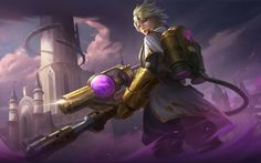 View an image titled 'Kimmy Art' in our Mobile Legends: Bang Bang art gallery featuring official character designs, concept art, and promo pictures. Fantasy Male, Fantasy World, Best Hero, All Hero, Mobile Legend Wallpaper, Hero Wallpaper, Carmilla, Alucard, Bang Bang