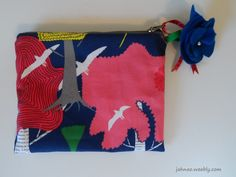 Pencil case with flower - Jahnao