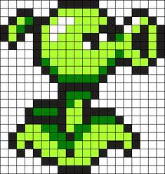 Kandi Patterns for Kandi Cuffs - Characters Pony Bead Patterns Perler Beads, Perler Bead Art, Fuse Beads, Melty Bead Patterns, Kandi Patterns, Beading Patterns, Easy Pixel Art, Pixel Art Grid, Pixel Art Templates