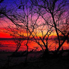 Beautiful sunset in Gili Trawangan #sunset #travel