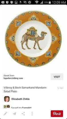 Camel dish