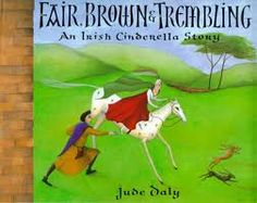 Fair, Brown, and Trembling ( Folktale) is the Irish version of Cinderella. It has a similar plot, but a few different details than the original story. This book would be great to compare and contrast the stories or the different beliefs and practices in different cultures. It could be used as part of a unit on several different cultures' versions of Cinderella.