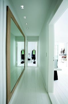 Mirror In Hallway spiritual living and feng shui: the use of mirrors and placement