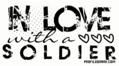 Army love...  I'm in love with a soldier   <3   .