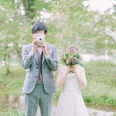 Japanese Wedding, Ulzzang Couple, 4 Photos, Wedding Photos, Poses, Couples, Wedding Dresses, Fashion, Marriage Pictures