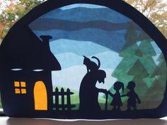 Basteln - Hänsel und Gretel,Transparent ,Waldorf - ein Designerstück von Puppenprofi bei DaWanda