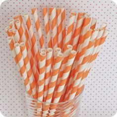 I need to throw a party just so I can use these. #orange