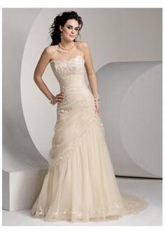 Verano strapless vestidos de novia 2012 suntuosos