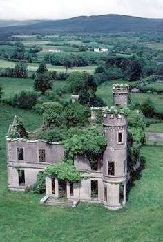 Forgotten Castle In Scotland