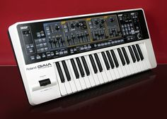 Roland Gaia SH01 Synth.    I also have this one!! Awesome sounds!