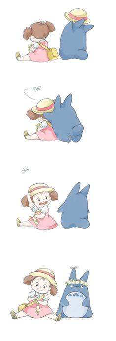 Mei and Chu-Totoro