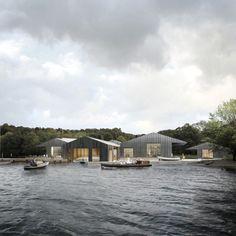 Carmody Groarke: Windermere Steamboat Museum, Lake Windermere, Cumbria.