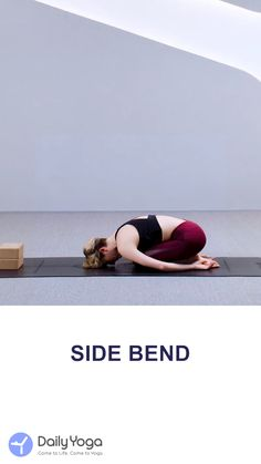 Side bend pose is beneficial for both shoulder and spinal. Finishing it, then you will feel the shoulder is stretched and spinal flexibility increased! 30 Minute Yoga, 30 Day Yoga, Gym Workout For Beginners, Yoga For Beginners, Warm Up Yoga, Beginning Yoga, Fun Workouts, Workout Exercises, Free Yoga Classes
