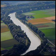 Le Rhone de haut, Vouvry, Valais_ West Switzerland Rhone, Switzerland, Countries, Beautiful Places, Photos, Europe, River, Outdoor, Places