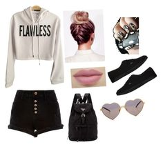 """Untitled #121"" by tayaaa12 on Polyvore featuring River Island, Vans, Prada and Wildfox"