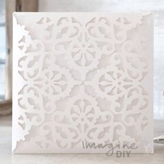 Eleganza Laser Cut Range  Laser cut wedding invitations perfect for your luxury wedding. DIY laser cuts are easy and elegant with options to insert your own printer inserts.