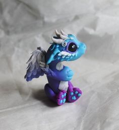 Bitty Angel Dragon Reserved for Amy by BittyBiteyOnes on Etsy: