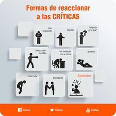 http://biialab.org ¿De qué maneras reaccionas a las críticas?  #Motivación…