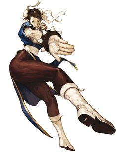 Chun-Li - Characters & Art - SNK vs. Capcom: SVC Chaos