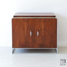 Cabinet by Hermann John Hagemann for Thonet Mundus, Viennese Modernism ca. 1930s