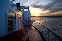 Mersey Ferry Sunset by mobilevirgin, via Flickr
