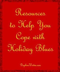 Resources to Help You Cope with Holiday Blues