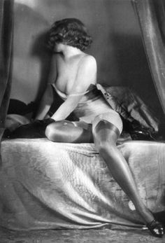 Unknown 1930s photographer - but look at those stockings!