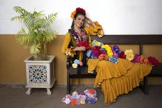 Moda floral 2020.  Traje de flamenca: Rocio Olmedo Moda Floral, Dresses, Fashion, Hello March, Flamenco Dresses, Moda, Vestidos, Fashion Styles, Dress