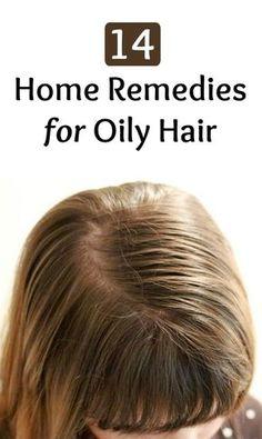 14 Home Remedies for Oily Hair - Hair Dandruff Oily Hair Treatment, Oily Hair Remedies, Shampooing Sec, Hair Dandruff, Greasy Hair Hairstyles, Healthy Hair Tips, Super Hair, Hair Care Tips, Hair Health