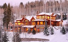Snowmass, CO: The Mountain Crest Lodge is a brand new, luxury Snowmass vacation rental, featuring breathtaking views and convenience to the slopes. Indulge yourself...