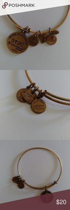 Alex and Ani Stand Up to Cancer bracelet Gently worn, great condition Alex & Ani Jewelry Bracelets