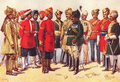 Turbans of the Indian Army | Military Sun Helmets