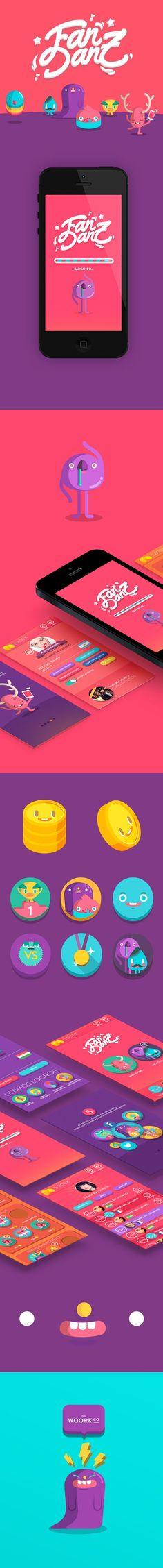 Fandanz App on Character Design Served