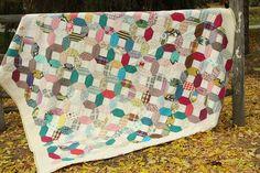 a Kansas Dugout Vintage Quilt