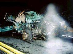 Unfall mit Geistern wie 4 Zeugen bestätigten. .