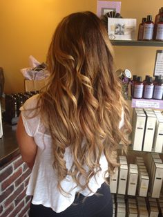 Color, balayage and extensions