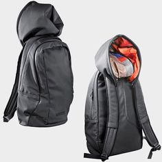 Backpack with hood - by Hüseyin Çağlayan