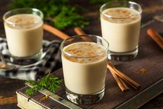 VEGAN Eggnog Recipe: Packed With Nutrients, Antioxidants And MORE!