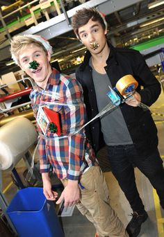 All I want for Christmas is Niall Horan and Liam Payne ❤