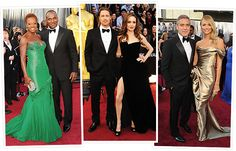The Oscars isn't just the biggest night in Hollywood, it's also date night for some of the silver screen's hottest couples! See Viola and Julius, Brad and Angelina, George and Stacy, and more pairs who enjoyed their night out by clicking through the gallery now.