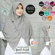 Jilbab Syari Belah Depan Bahan Buble Crepe #jilbabsyari #hijab_syari #fashion_hijab Crepe, Hijab Tutorial, Muslim, Style, Fashion, Swag, Moda, Fashion Styles, Fasion