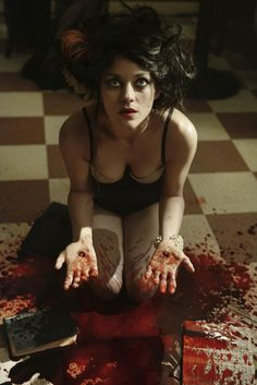 Marion Cotillard in David Bowie's video for The Next Day