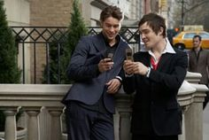 Nate y Chuck Bass