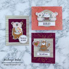 December 2020 Paper Pumpkin: Beary Comforting Stampin Up Paper Pumpkin, Christmas Banners, Cute Creatures, Wells, Little Gifts, Some Fun, Card Stock, Comforters, December