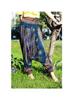 Baggy pants/palazzo pants/harem pants/pyjamas/yoga by Nidnidshop