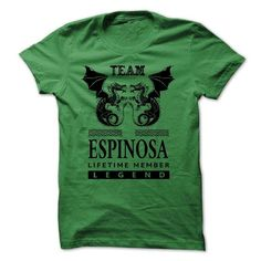 Awesome Tee (Team3003) Team ESPINOSA Lifetime Member Shirts & Tees